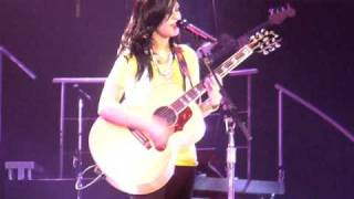 Demi Lovato - Two Worlds Collide LIVE 7-16-09 Sacramento HQ