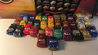 Disney Pixar Cars mini racers unboxing/collection part 1