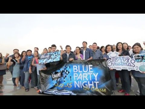 Blue Party Night On Cruise 2015