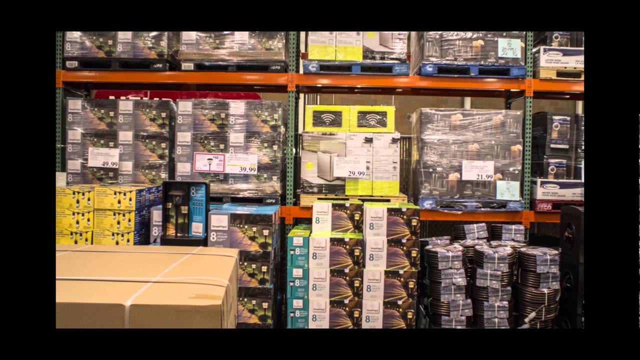 Stocking The Fence At Costco On A Saturday 430am 4k UHD