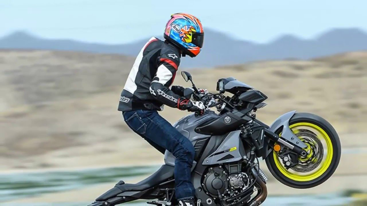 Yamaha MT 10 - arrive in dealers at the beginning of June