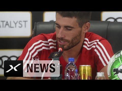 "Javi Martinez' Position? ""Ist mir völlig egal"" | FC Bayern München"