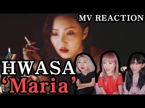 Hwa Sa(화사) _ Maria(마리아) MV REACTION 뮤비 리액션