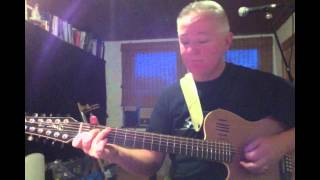How to play ´Fly on a windshield`by Genesis from TLLDOB. Godin A12