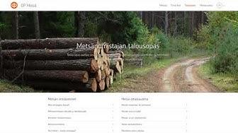 OP Metsä -palvelun esittely - OP