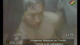 UNASUR, se presentó informe preliminar de la matanza del Porvenir Pando Bolivia - Nov 2008