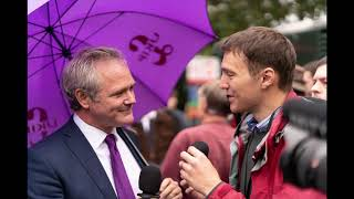 Richard Braine Interview with talkRADIO outside parliament