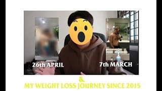 Losing 9KG in 6 Weeks! ( + my weight loss journey since 2015)