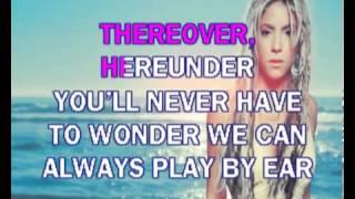 Shakira   Whenever, Wherever karaoke