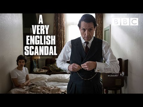 Hugh Grant, Ben Wishaw, Russell T Davies & cast   A Very English Scandal  BBC