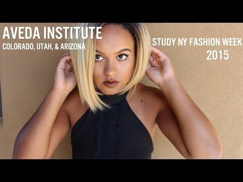 Aveda Institute Colorado, Utah, & Arizona Study NY Fashion Week 2015