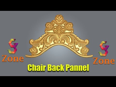chair carving ~ back decor ~ part 2