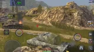 WoT Blitz || E-100 - 7400+ DMG || Feat. drtimoboll