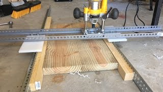 Easy and Adjustable DIY Router-Planer | How To