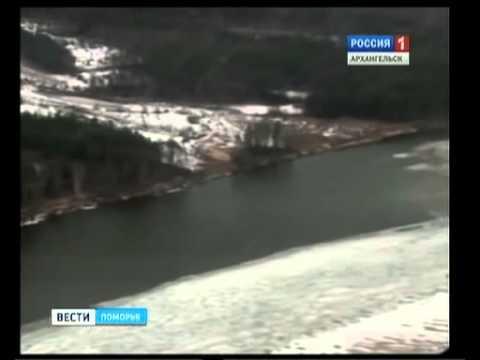 Ледоход - в 450 км от Архангельска
