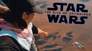 I Saw The Set of STAR WARS From A Hot Air Balloon! | STAR WARS: THE RISE OF SKYWALKER