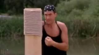 Тренировка Айки Тсуки -  Стивен Сигал (Смерти вопреки)