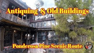 RV Travel Videos - Idaho City - Day trip - Antiquing -  RV Life S2 EP046