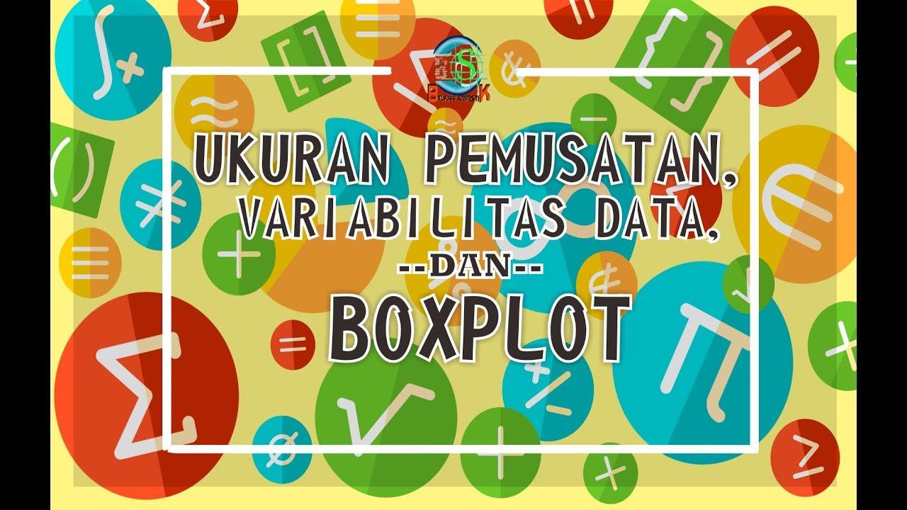 Ukuran Pemusatan, Variabilitas Data, dan Boxplot
