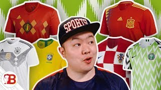 A Fat Asian Ranks The Top 10 Best Kits At The 2018 World Cup!!!