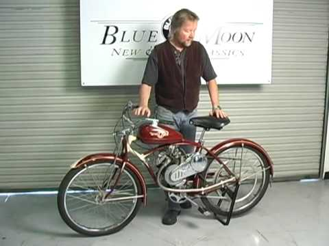 1949 Whizzer Motorized Bicycle thumbnail