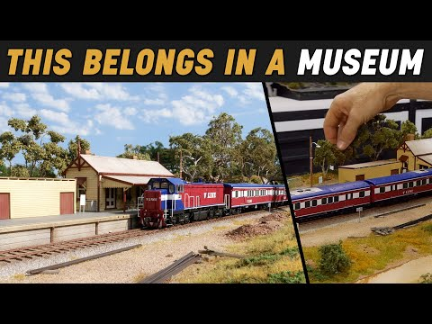 Build a Museum Quality Train Station – Realistic Scenery Vol.25