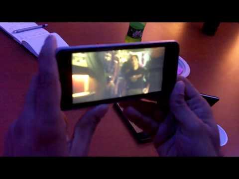 Intel Moorestown Demo in an LG Smartphone