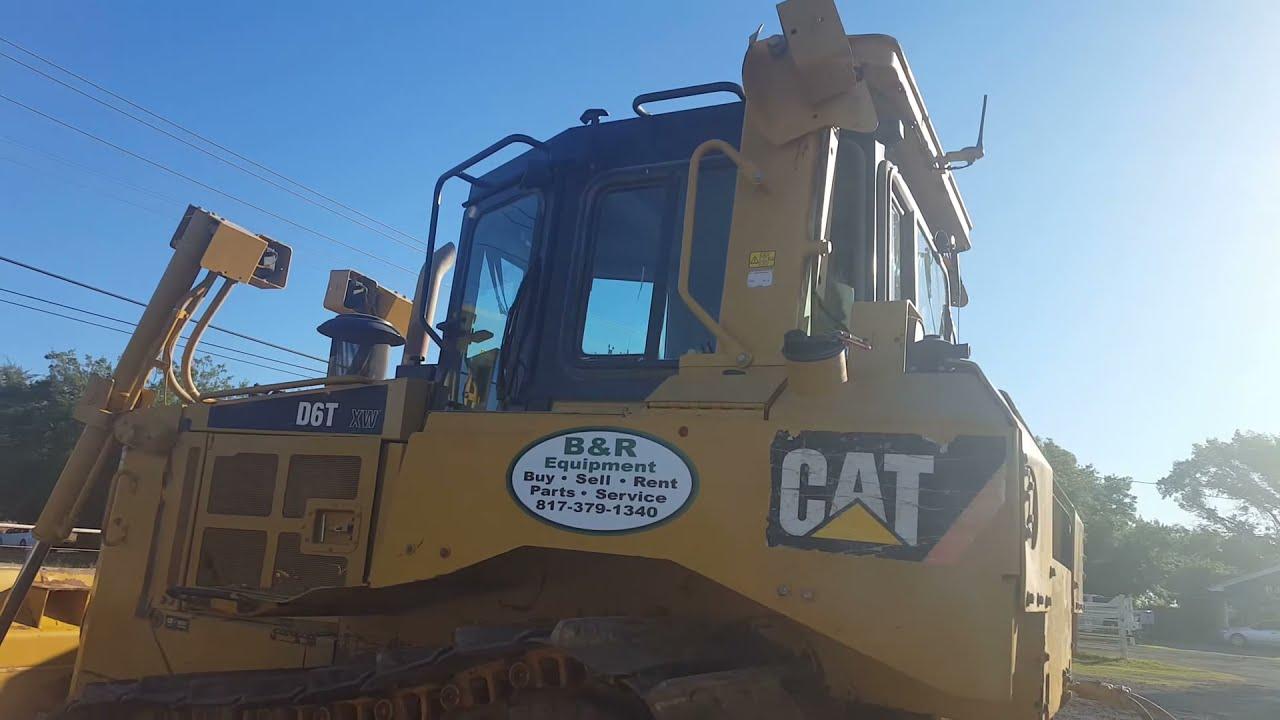 Caterpillar D6T XW Crawler Tractor | Texas