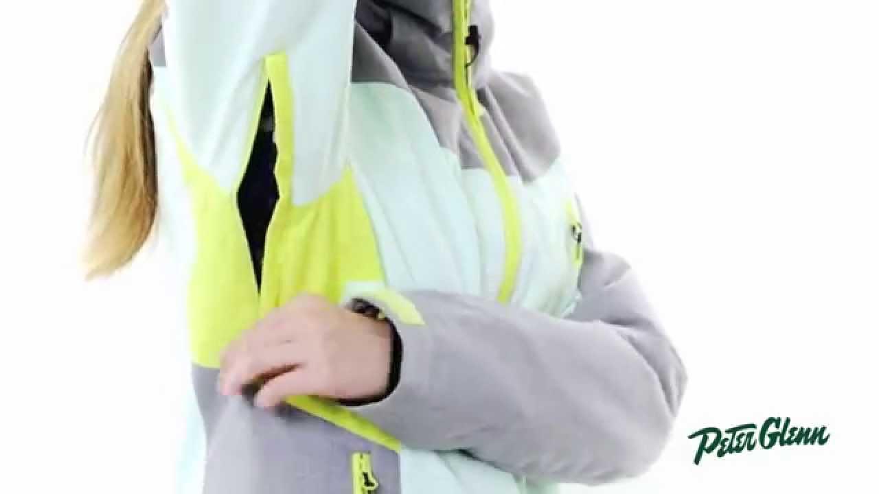 11542d839 2016 Roxy Women s Sassy Snowboard Jacket Review by Peter Glenn - YouTube