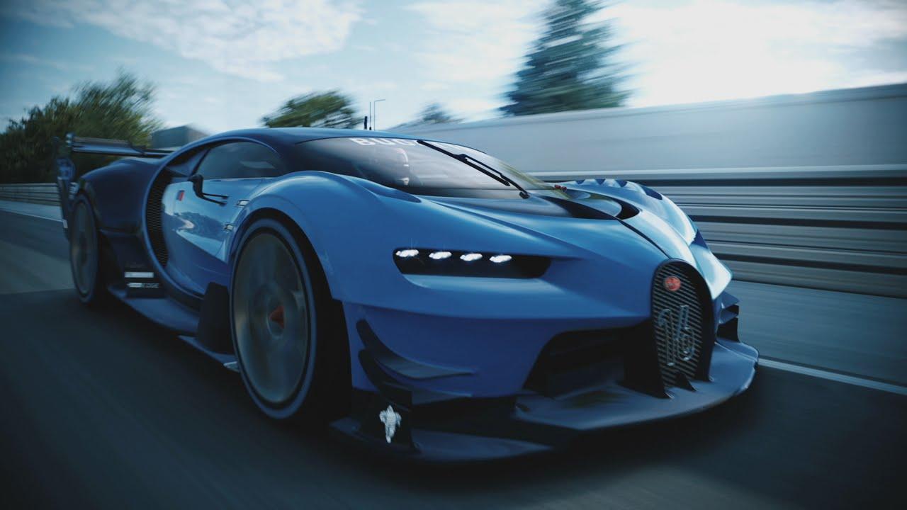 bugatti vision gran turismo: unveiled - youtube