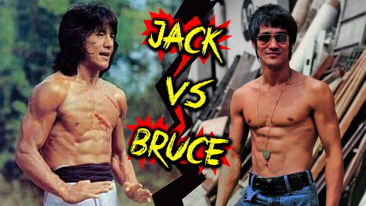 Download O dia que Jackie Chan enfrentou Bruce Lee - Quem ganha essa luta?