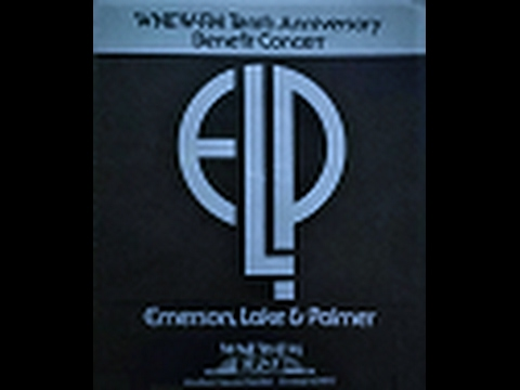 ELP WNEW-FM Charity Benefit Show at Madison Square Garden 10/17/77