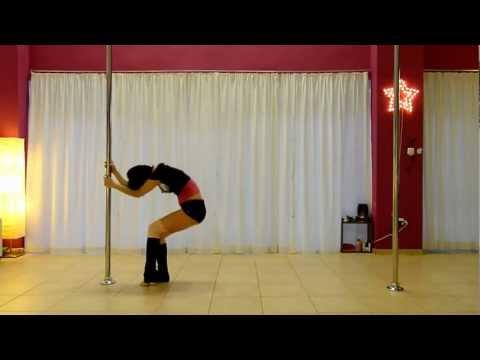 Pole Art Routine 01 - Level 1 (Christina Aguilera - Walk Away)