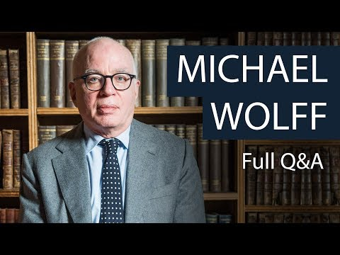 Michael Wolff | Full Q&A | Oxford Union