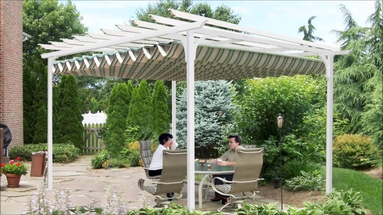 Canopies Pergola Canopies Amp Under Pergola Canopy Systems