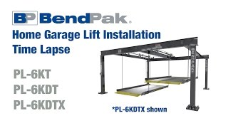 GoPro Time Lapse of BendPak Home Garage Lift Installation
