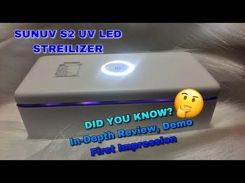 SunUV S2 UV Sterilizer In-Depth Demo First Impression and Review