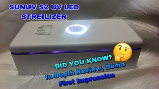 SunUV S2 UV Sterilizer In-Dept…