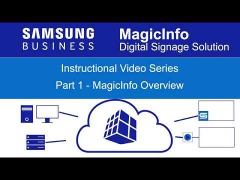 Samsung MagicInfo Overview