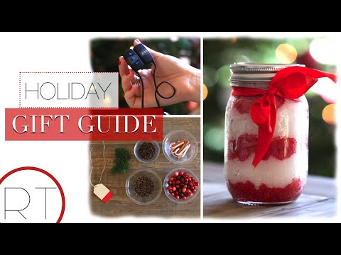 DIY Holiday Gifts + Holiday Gift Favorites