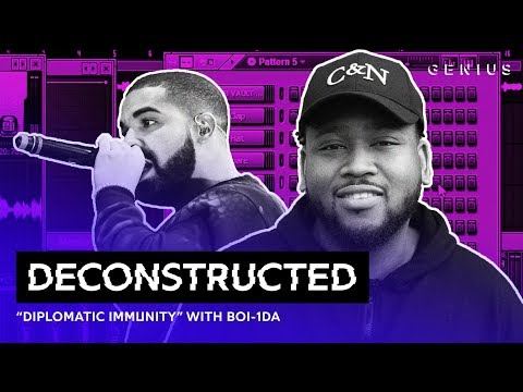 """The Making Of Drake's """"Diplomatic Immunity"""" With Boi-1da 