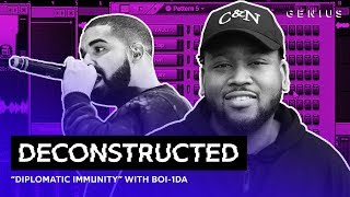 "The Making Of Drake's ""Diplomatic Immunity"" With Boi-1da 
