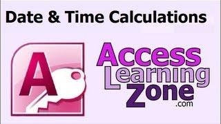 Microsoft Access Date & Time Calculations