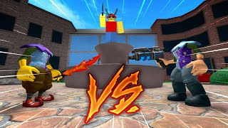 1v1 with SMALLEST Avatars in MM2!