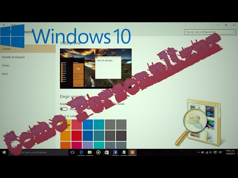 Como Personalizar Windows 10