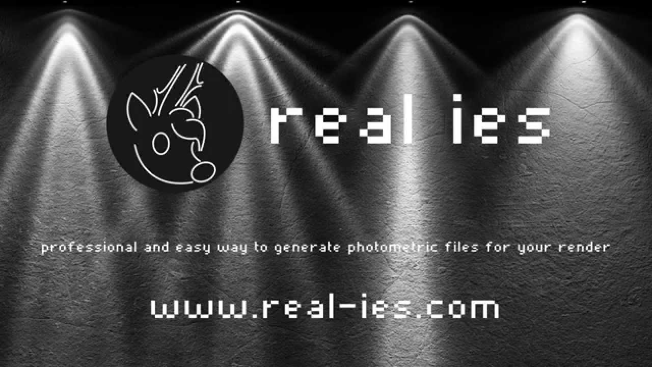 How To Use Photometric IES Light In 3ds Max And V-Ray - YouTube for Ies Light Viewer  56mzq