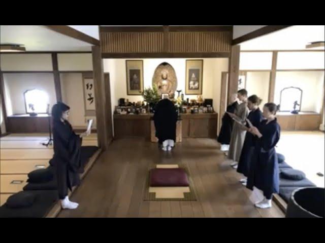JunPo Denis Kelly Roshi – Abbreviated Funeral Service Led by Shinge Roshi, 5.16.2021