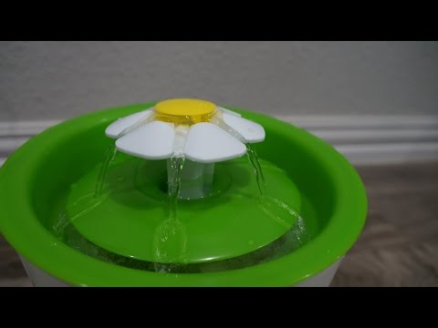 Catit Multi Feeder & Water Flower Fountain Unboxing