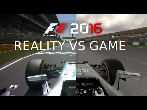 The Real F1 2016, REALITY vs GAME