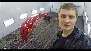 покраска автомобиля Mazda 3 Ford Focus 3 Кузовной ремонт